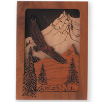 Eagle 3D Keepsake