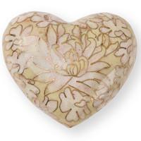 Opal Cloisonne Heart Keepsake