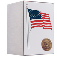 Flag Panel Stainless Steel