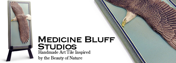 ohn Beasley is co-owner of Medicine Bluff Studio, a sculptor and illustrator. He designs and sculpts all Medicine Bluff Studio products.