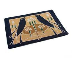 Placemat with Jade Motawi Songbirds Design