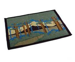 Placemat with Motawi Landscape Design