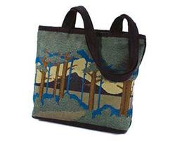 Shoulder Tote with Motawi Landscape Design