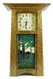 Schlabaugh and Sons Clock with Handmade Motawi Tile