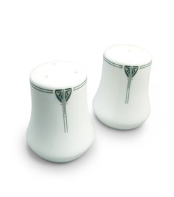 Dard Hunter China Viennese Pendant Salt and Pepper Shaker set