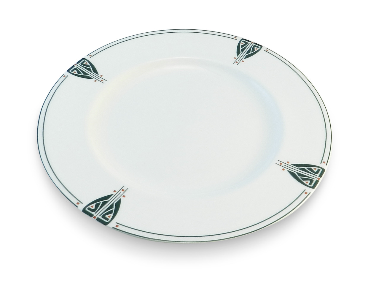 Dard Hunter China Viennese Pendant 11 Quot Dinner Plate