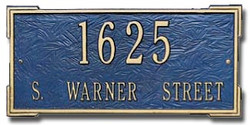 Whitehall   Roanoke Address Plaque