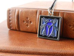 Jae Salvage Scarab Pendant Turquoise (Free shipping) ON SALE!!