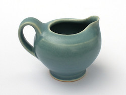 One Acre Ceramics - Blue Matte Creamer
