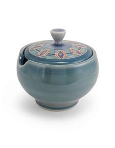 One Acre Ceramics - Sugar Bowl with Jewel Design