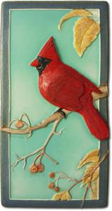 """Cardinal 4"""" x  8"""" Tile - Medicine Bluff Studios"""