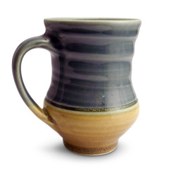 One Acre Ceramics - Handmade Mug Blue/Tan