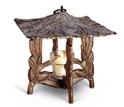 Whitehall Products Pinecone Twilight Lantern