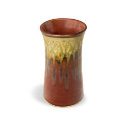 Blanket Creek Pottery Handmade Tumbler in Green Ash