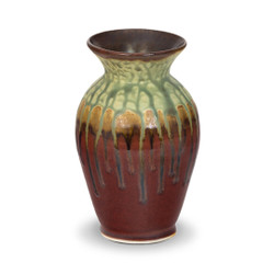 Blanket Creek Pottery Classic Vase in Green Ash