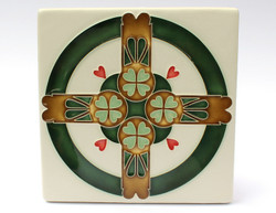 One Acre Ceramics - Swedish Hearts 8x8