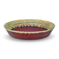 """10"""" Pie Plate in Green Ash"""