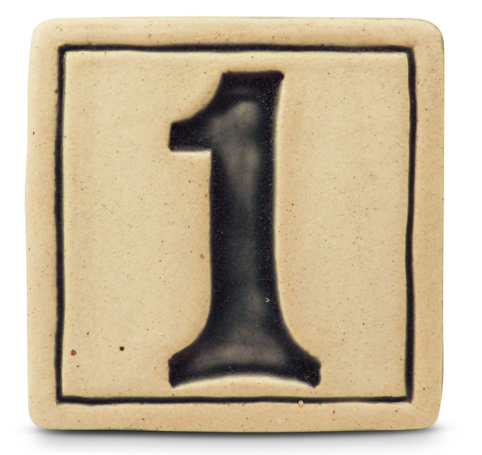 Whistling Frog Ceramic House Numbers