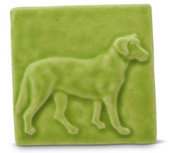 Labrador Tile By Whistling Frog Tile Company