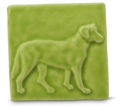 Labrador Tile By Whistling Frog Tile Company