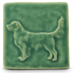 Retriever Tile by Whistling Frog Tile Company