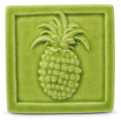Pineapple Tile By Whistling Frog Tile Studio