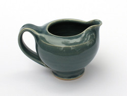 One Acre Ceramics - Blue Glossy Creamer