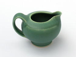 One Acre Ceramics -Green Creamer