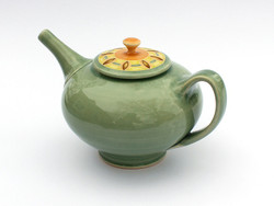 One Acre Ceramics - Teapot with Jewel Pattern