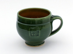 Green with tan interior, 16 oz mug