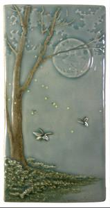 Medicine Bluff Studio Fireflies Tile