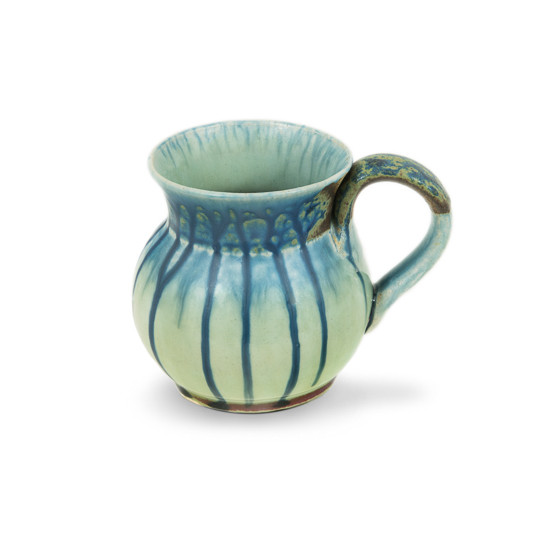 Round Mug in Blue Ash