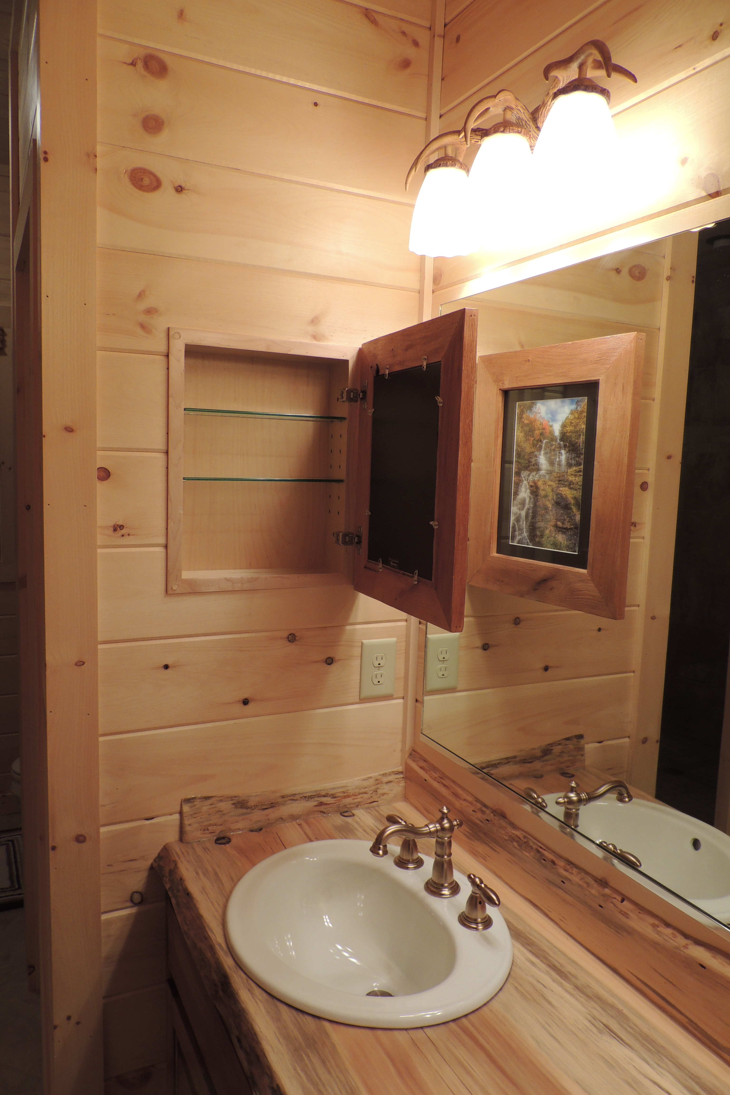 While Designing Our Home, We Both Agreed That A Medicine Cabinet In The  Master Bath Was Something ...