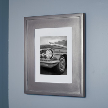 Large Silver Concealed Cabinet | Recessed In Wall Medicine Cabinets With  Picture Frame Doors And No Mirrors