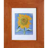 Cinnamon (14x18) concealed medicine cabinet with picture frame door, display your own art instead of a mirror