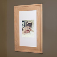 "Extra Large Unfinished #2 Recessed Picture Frame Medicine Cabinet (14"" x 24"")"
