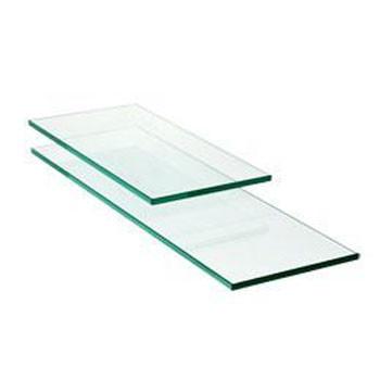 Glass Shelves Concealed Cabinet