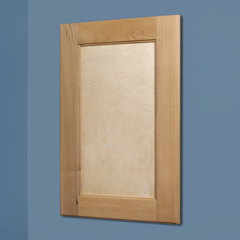 Unfinished Shaker Style Recessed Medicine Cabinet (14x24) | Recessed  In Wall Medicine Cabinets With No Mirrors