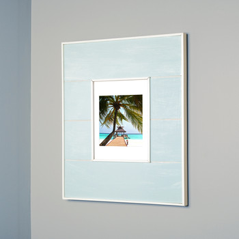 13x16 Seabreeze Blue Concealed Cabinet | Recessed In-Wall Picture ...