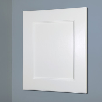 Charmant White Shaker Style Medicine Cabinet (13x16) | Recessed In Wall Picture  Frame Medicine Cabinets Without Mirrors