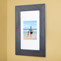 xl grey recessed picture frame medicine cabinet