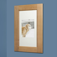 14x24 unfinished shaker style recessed picture frame medicine cabinet