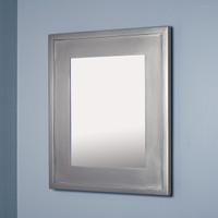 13x16 Regular Silver Mirrored Medicine Cabinet by Fox Hollow Furnishings