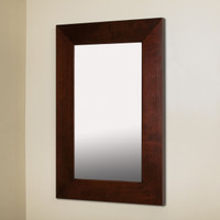 14x24 Espresso Mirrored Medicine Cabinet by Fox Hollow Furnishings