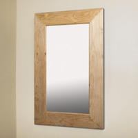 14x24 Unfinished Rustic Mirrored Medicine Cabinet by Fox Hollow Furnishings