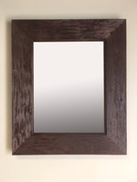 14x18 Rustic Coffee Bean Mirrored Medicine Cabinet by Fox Hollow Furnishings