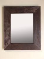 13x16 Regular Rustic Coffee Bean Mirrored Medicine Cabinet by Fox Hollow Furnishings