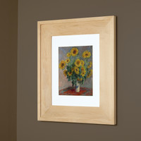 "Regular Unfinished #2 Recessed Picture Frame Medicine Cabinet (13 1/8"" x 16"")"