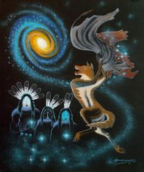 Ma ' ii BizǪ ' - Coyote Star