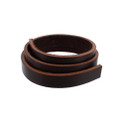 "English Bridle Leather Strap, 5/8"" wide, 25"" Long, 8-10oz"